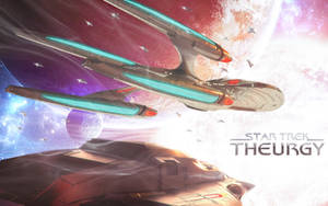 Into the Celestial Glare   Star Trek: Theurgy by Auctor-Lucan