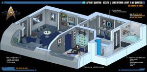 Captain's Quarters | Star Trek: Theurgy