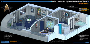 Captain's Quarters | Star Trek: Theurgy by Auctor-Lucan