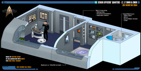 Senior Officers' Quarters   Star Trek: Theurgy by Auctor-Lucan