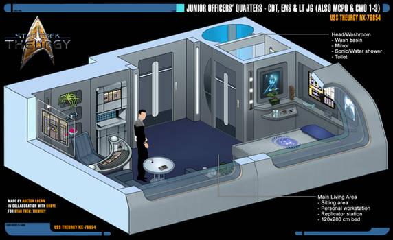 Junior Officers' Quarters | Star Trek: Theurgy