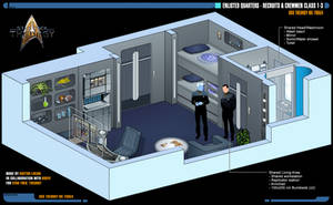 Enlisted Quarters | Star Trek: Theurgy by Auctor-Lucan