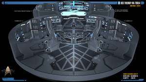 USS Theurgy NX-79854 Main Bridge (Cut-Away View) by Auctor-Lucan