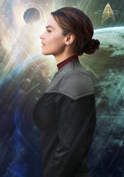 Jaya Thorne | USS Allegiant CONN Officer by Auctor-Lucan