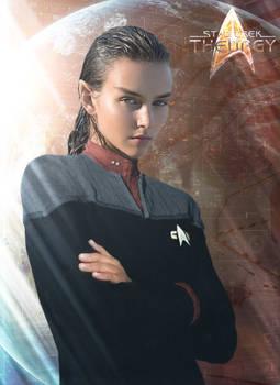 Tactical Officer T'Less | Star Trek: Theurgy