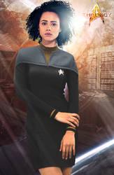 Lt. JG Kythalie Benmual   Star Trek: Theurgy by Auctor-Lucan