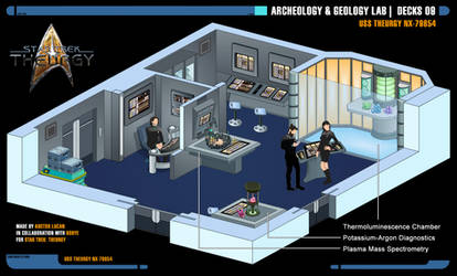 Archeology and Geology Lab | Star Trek: Theurgy by Auctor-Lucan