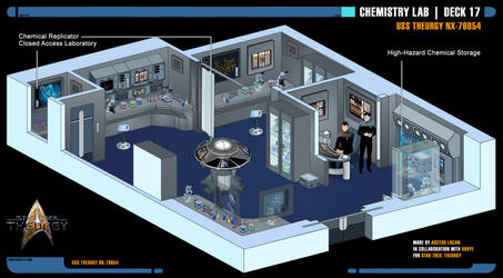 Chemistry Lab | Star Trek: Theurgy by Auctor-Lucan