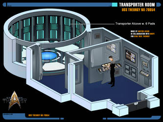 Transporter Room | Star Trek: Theurgy by Auctor-Lucan