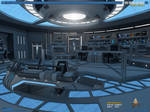 USS Theurgy NX-79854 Battle Bridge | Render-01