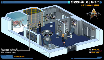 Xenozoology Lab | Star Trek: Theurgy by Auctor-Lucan