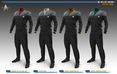Male Duty Uniforms | Star Trek: Theurgy