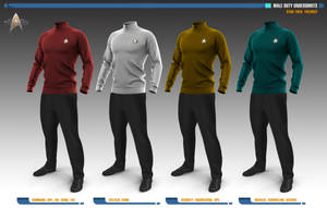 Male Duty Undershirts | Star Trek: Theurgy by Auctor-Lucan