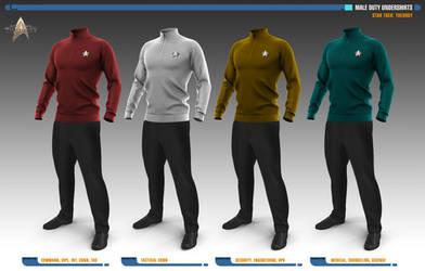 Male Duty Undershirts | Star Trek: Theurgy