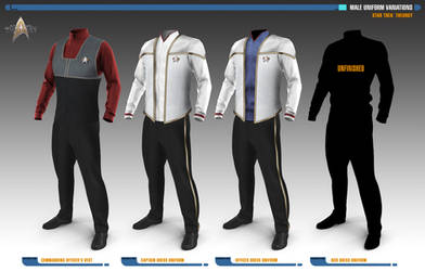 Male Uniform Variations | Star Trek: Theurgy