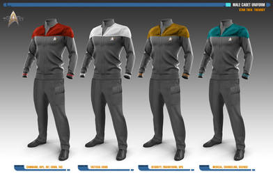 Male Cadet Uniforms | Star Trek: Uniforms