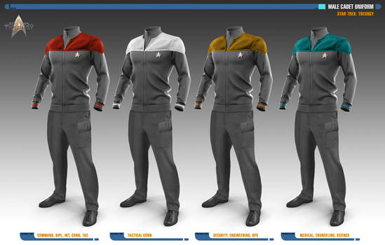 Male Cadet Uniforms | Star Trek: Uniforms
