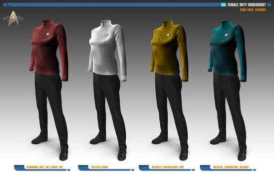 Female Duty Undershirts | Star Trek: Theurgy