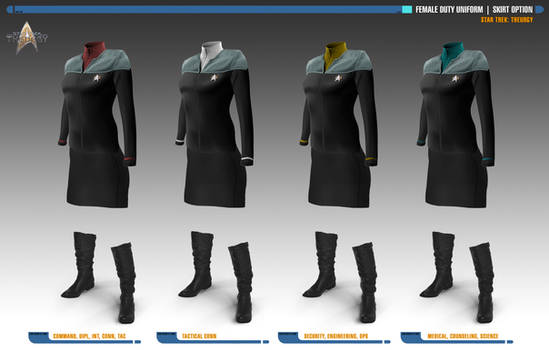 Female Skirt Option | Star Trek: Theurgy