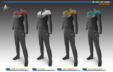 Female Cadet Uniforms | Star Trek: Theurgy