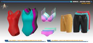 Starfleet Swimwear | Star Trek: Theurgy