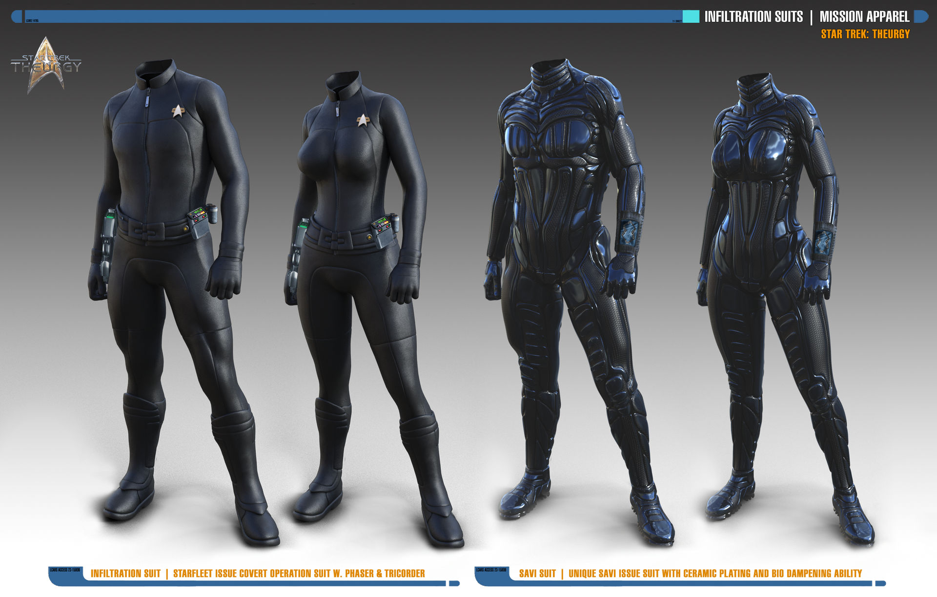 Inflitration Suits   Star Trek: Theurgy