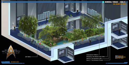 Memorial Terrace | Star Trek: Theurgy by Auctor-Lucan