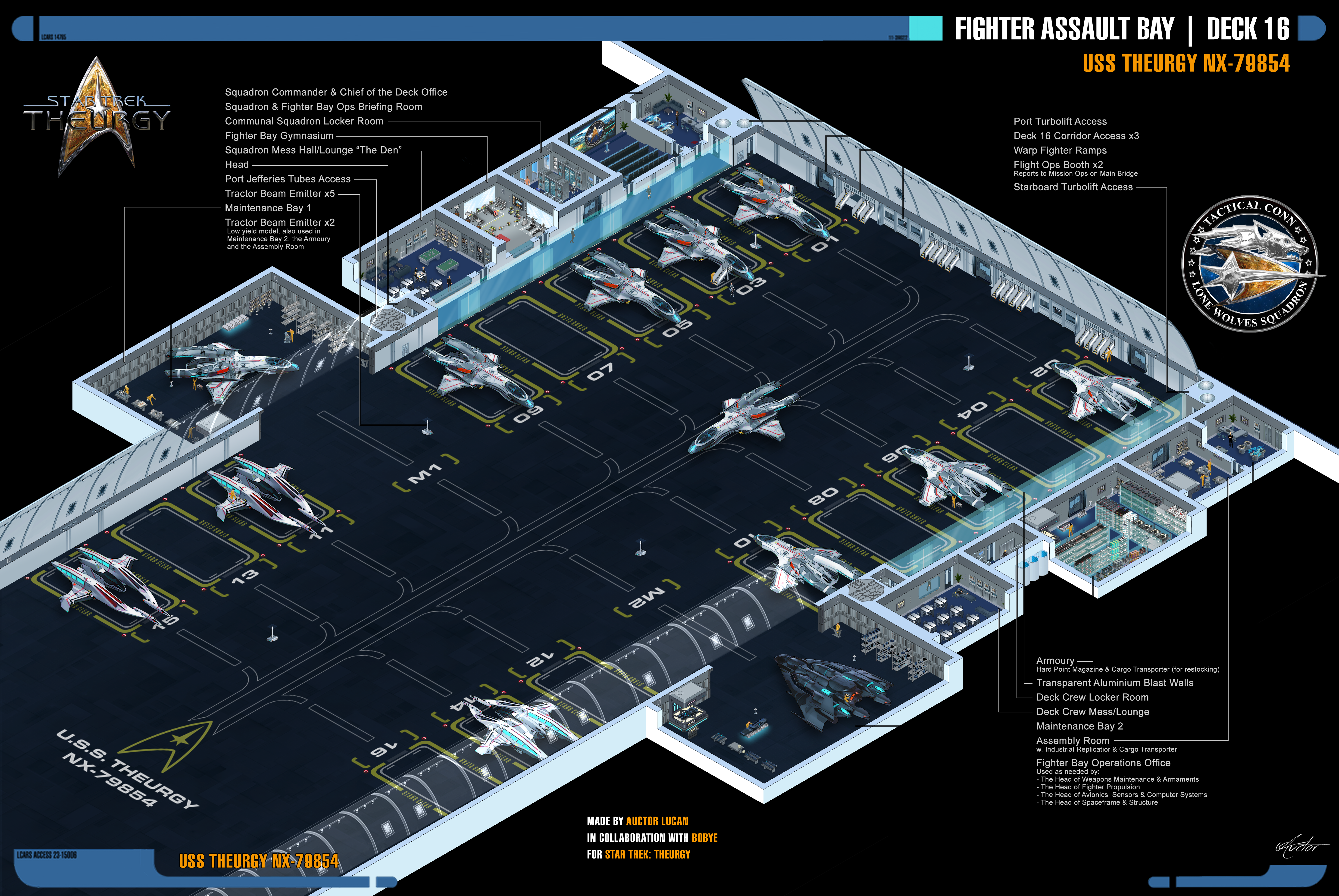 Fighter Assault Bay | Star Trek: Theurgy