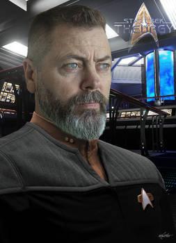 Lt. Frank Arnold | Star Trek: Theurgy