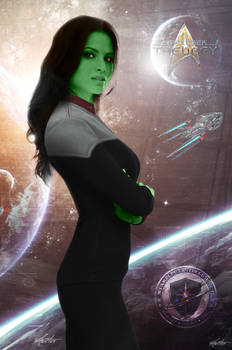 Junior Lieutenant Dantius | Star Trek: Theurgy
