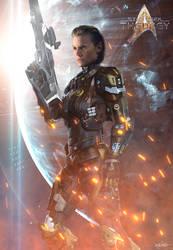 Lt. Valyn Amarik | Star Trek: Theurgy