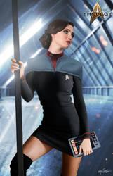 Lt. Enyd Isolde Madsen | Star Trek: Theurgy