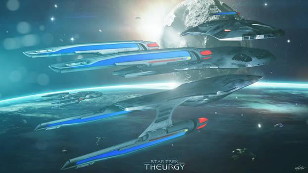 Orbital Repairs at Qo'noS   Star Trek: Theurgy