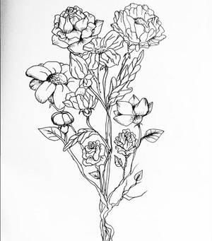 More flower-doodling