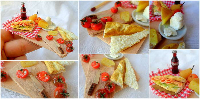 Miniature food : Good lunch ! by Valentina-PinkCute