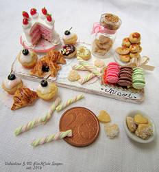 Miniature food 1/12 scale : Micol's Sweet