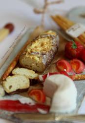 Miniature food 1/12 : summer lunch Italian style