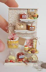 1/12 scale miniature : Strawberry composition 2