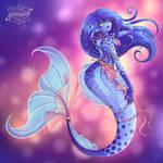 Mermaid Alien Girl  [+Speedpaint]