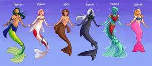 Merfolk Species (OPEN ADOPTS)