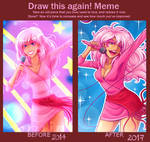 Draw this Again meme - Jem
