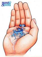 Mermay Day2 - Blue angel by Geminine-nyan