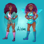 Winx redesigns - Aisha