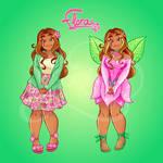 Winx redesigns - Flora