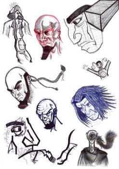 Various sketch