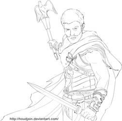 Spartacus Line-Art