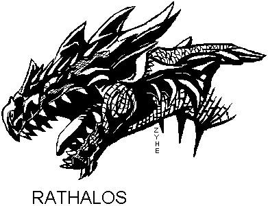 Rathalos by Killer-Beast