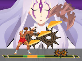 .hack//Fighter Boss Stage (mock-up) Update 1