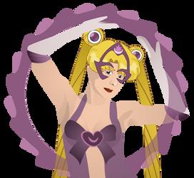 Sailor Moon as Star Sapphire