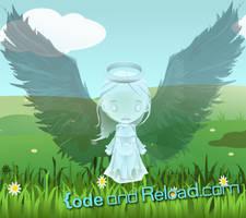 Angel Gwendolyn by CodeAndReload